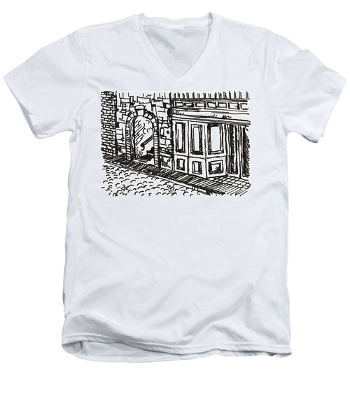 Buildings 2 2015 - Aceo Men's V-Neck T-Shirt
