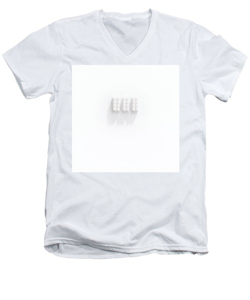 Builidng Blocks Men's V-Neck T-Shirt