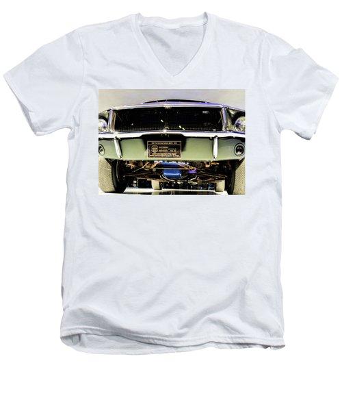 Bulitt Front View Men's V-Neck T-Shirt