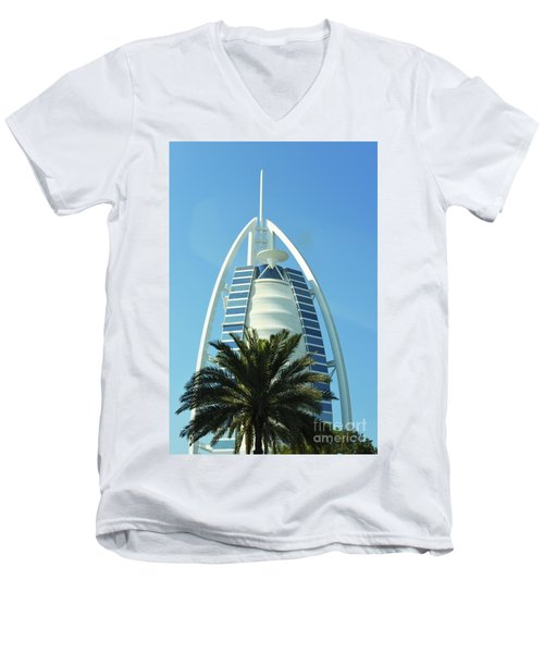 Burj Al Arab Men's V-Neck T-Shirt