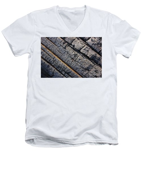 Burnt Bark Men's V-Neck T-Shirt