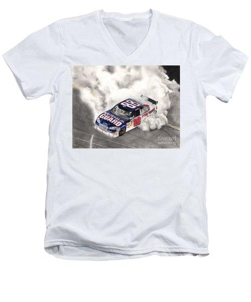Burnt Rubber Men's V-Neck T-Shirt