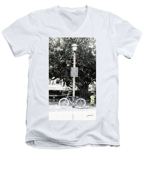 Bus Stop Men's V-Neck T-Shirt