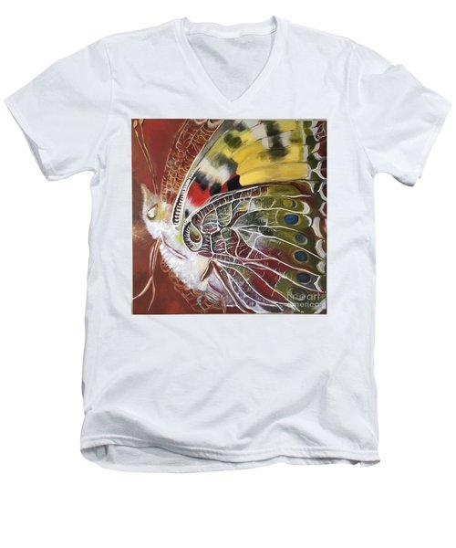 Butterfly Artbox Project 1 Basel Men's V-Neck T-Shirt