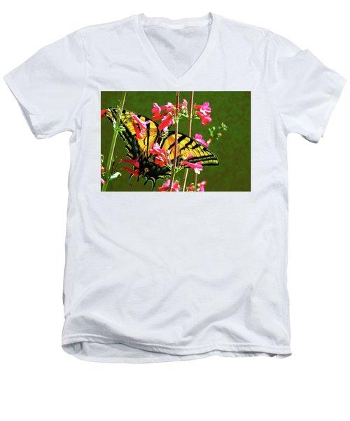 Butterfly's Dream Men's V-Neck T-Shirt