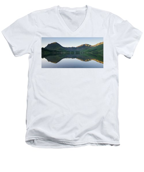 Buttermere Reflections Men's V-Neck T-Shirt