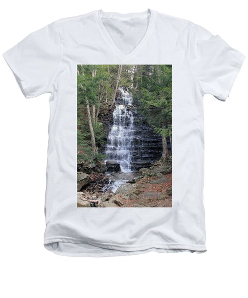 Buttermilk Falls Men's V-Neck T-Shirt