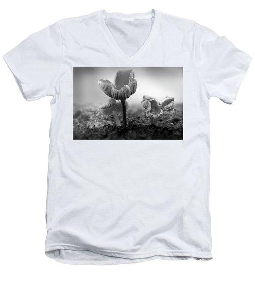 Bw Mushroom - 365- 232 Men's V-Neck T-Shirt
