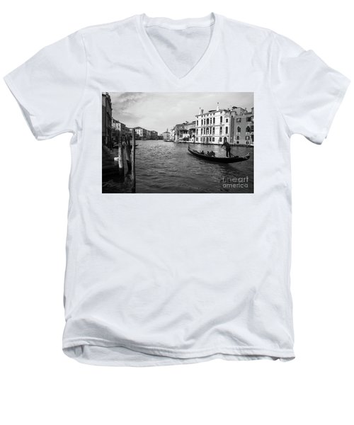 Bw Venice Men's V-Neck T-Shirt by Yuri Santin