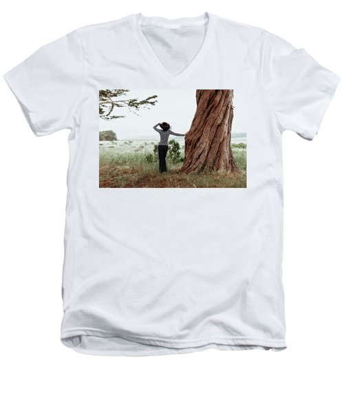 By The Cypress Men's V-Neck T-Shirt