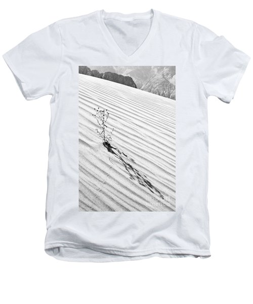 Cactus In Desert Men's V-Neck T-Shirt