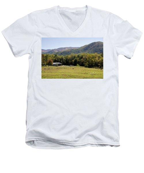 Cades Place Men's V-Neck T-Shirt