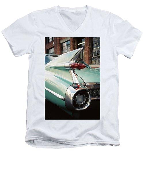 Cadillac Fins Men's V-Neck T-Shirt