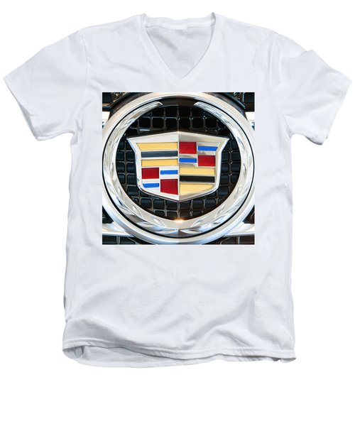 Cadillac Quality Men's V-Neck T-Shirt