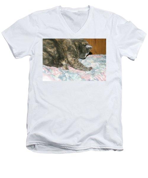 Cal-1 Men's V-Neck T-Shirt