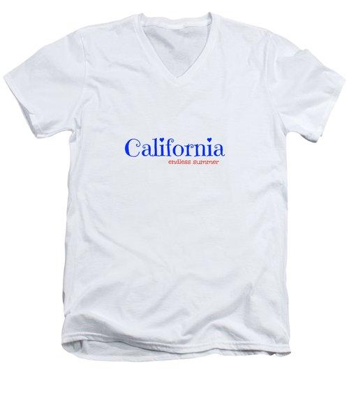 California Endless Summer Men's V-Neck T-Shirt