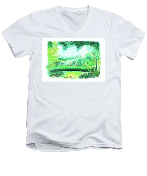 California Garden Men's V-Neck T-Shirt
