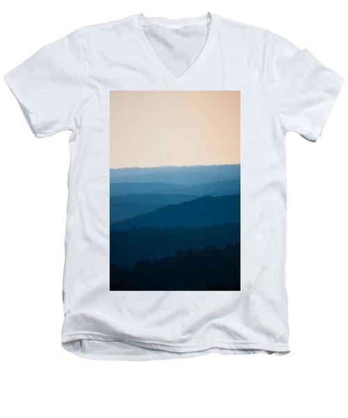 Calm Over The Hoyle Men's V-Neck T-Shirt