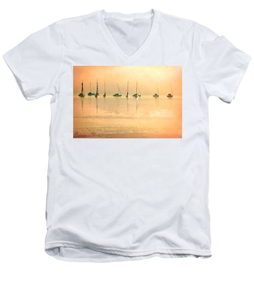 Calm Waters Men's V-Neck T-Shirt