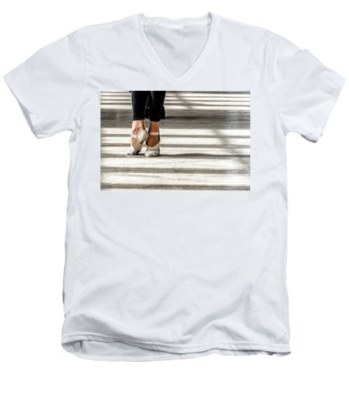 Camaguey Ballet 2 Men's V-Neck T-Shirt