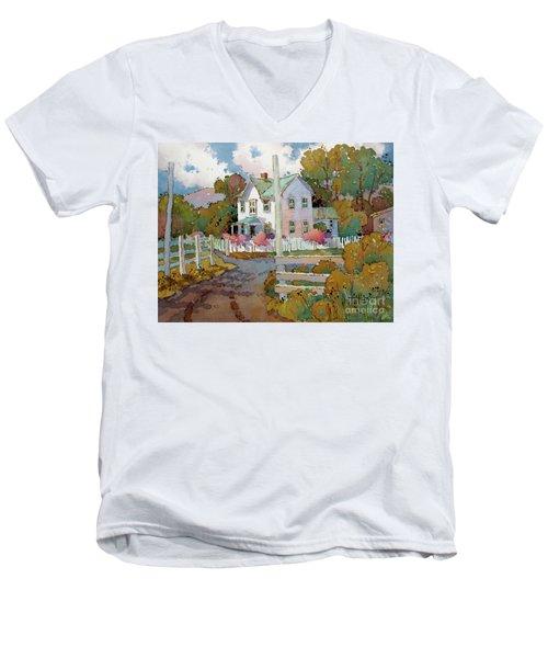Cambria Farm Men's V-Neck T-Shirt