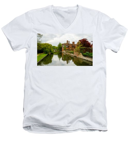 Cambridge Serenity Men's V-Neck T-Shirt