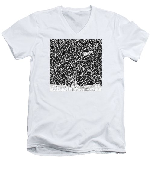 Can You See Me? Men's V-Neck T-Shirt