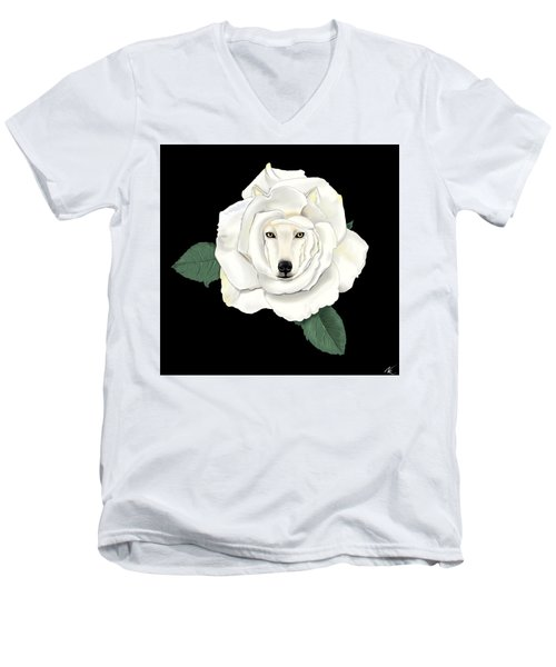 Canis Rosa Men's V-Neck T-Shirt