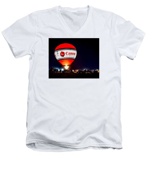 Canon - See Impossible - Hot Air Balloon Men's V-Neck T-Shirt