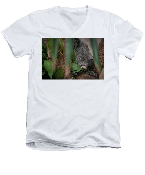 Canopy Nap Men's V-Neck T-Shirt