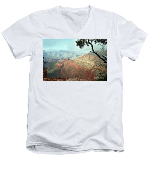 Canyon Captivation Men's V-Neck T-Shirt