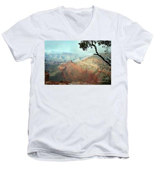 Canyon Captivation Men's V-Neck T-Shirt