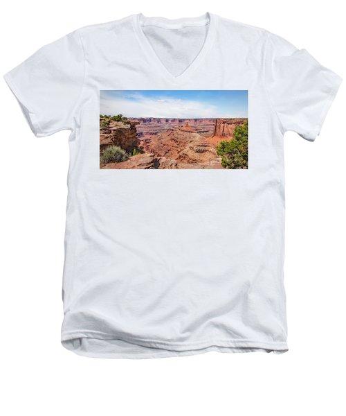 Canyonlands Near Moab Men's V-Neck T-Shirt