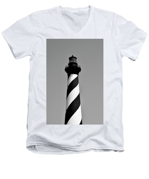 Cape Hatteras Island Light Men's V-Neck T-Shirt