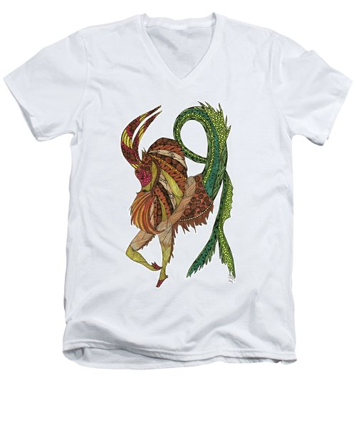 Capricorn Men's V-Neck T-Shirt