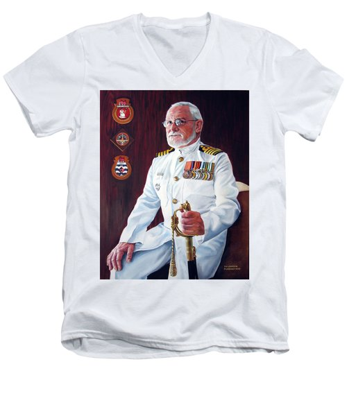 Capt John Lamont Men's V-Neck T-Shirt