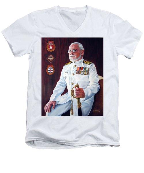 Capt John Lamont Men's V-Neck T-Shirt