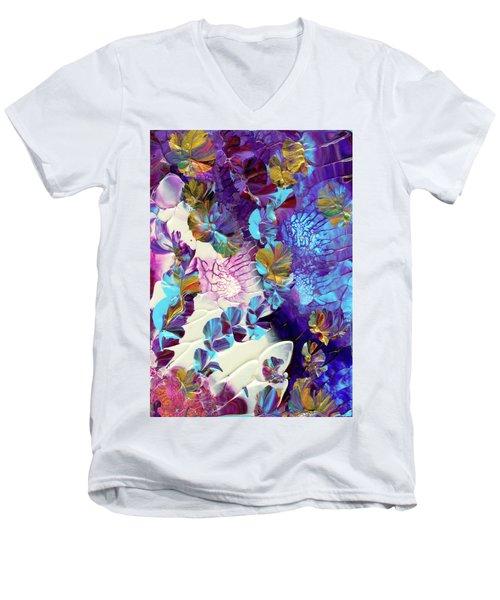 Captivating Men's V-Neck T-Shirt