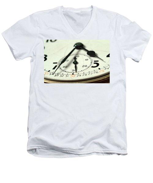 Captured Time Men's V-Neck T-Shirt