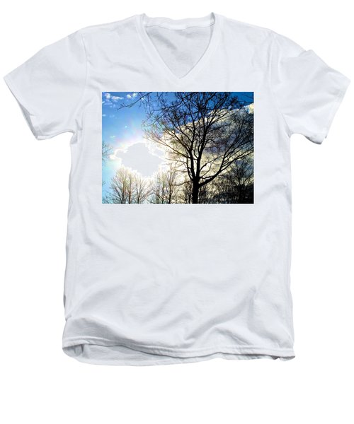 Capturing The Morning Sun Men's V-Neck T-Shirt