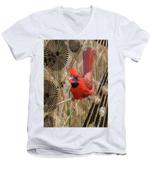 Cardinal Men's V-Neck T-Shirt
