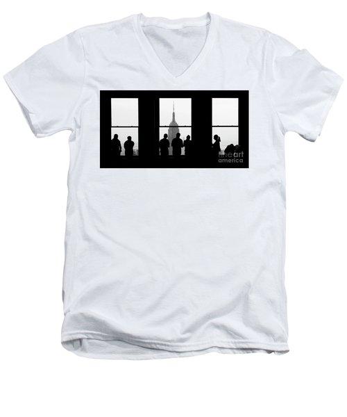 Careful Observation Men's V-Neck T-Shirt