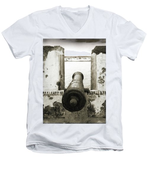 Caribbean Cannon Men's V-Neck T-Shirt