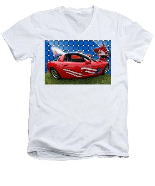 Carmerica II Men's V-Neck T-Shirt