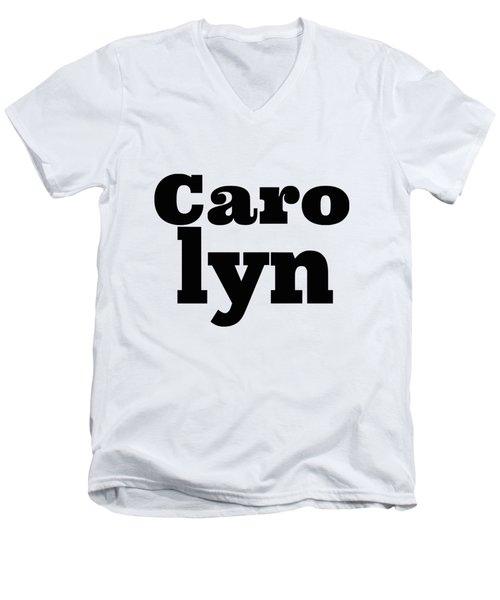 Carolyn Men's V-Neck T-Shirt