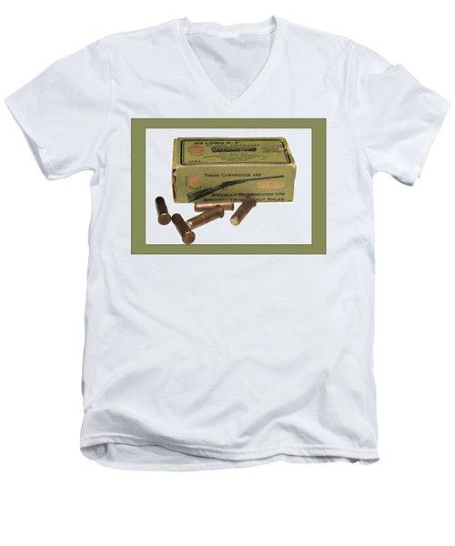 Cartridges For Rifle Men's V-Neck T-Shirt