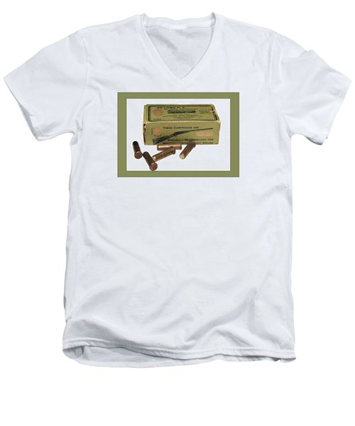 Cartridges For Rifle Men's V-Neck T-Shirt