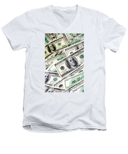 Cash Money Men's V-Neck T-Shirt