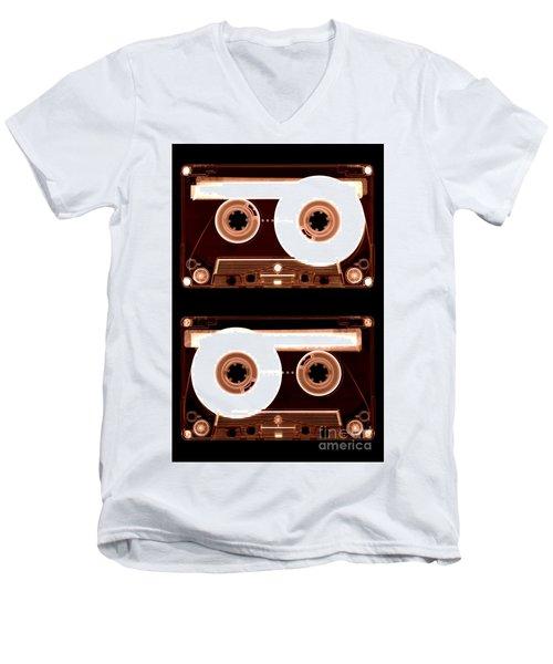 Cassette Tapes Men's V-Neck T-Shirt