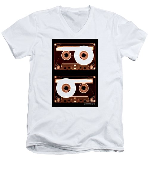 Cassette Tapes Men's V-Neck T-Shirt